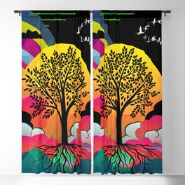 tree Blackout Curtain