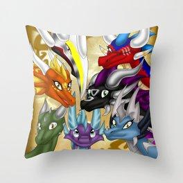 Spyro Comics Throw Pillow