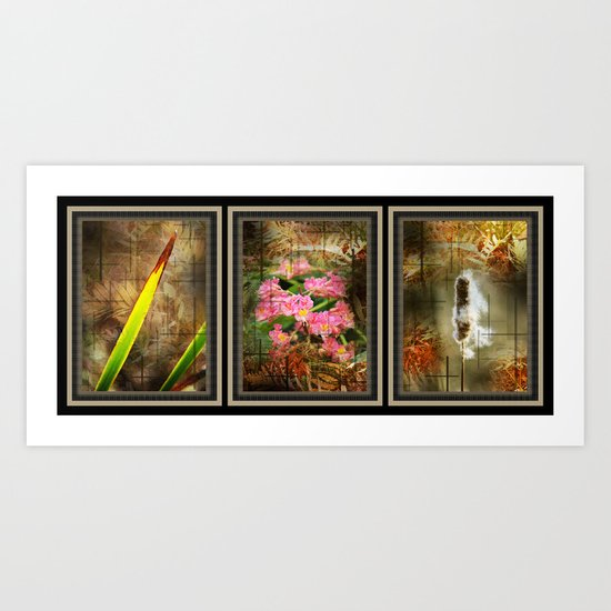 A Unknown World Collection Art Print