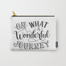 Oh What a Wonderful Journey Carry-All Pouch