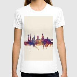 Shrewsbury England Skyline T-shirt