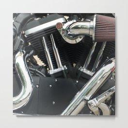 iron horse - american motorbike engine Metal Print
