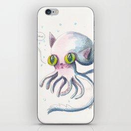 Squid Boo iPhone Skin