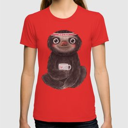 Sloth I♥lazy T-shirt