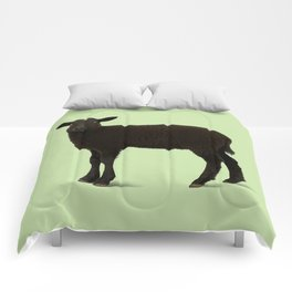 Black Lamb // Green Comforters
