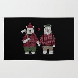 My Bear Valentine Rug