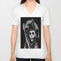 sons of anarchy V-neck T-shirts featuring Sons Of Anarchy (Reaper) by ItalianRicanArt