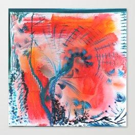 Joyous Lines Canvas Print