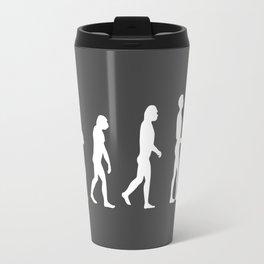 Evolve - Full Circle -white Travel Mug