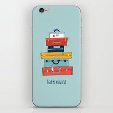 Take me anywhere iPhone & iPod Skin