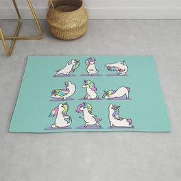 Unicorn Yoga Rug
