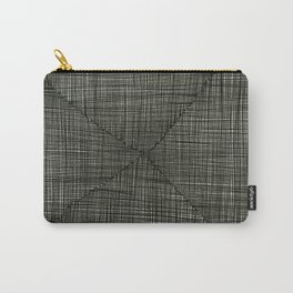 Ink Weaves: Charcoal Carry-All Pouch