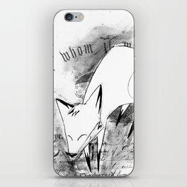 minima - deco fox iPhone Skin