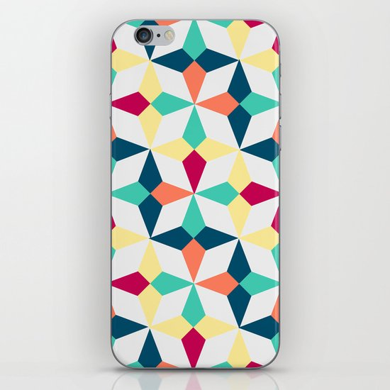 FloralGeometric iPhone & iPod Skin