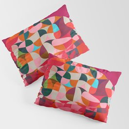shapes abstract Pillow Sham