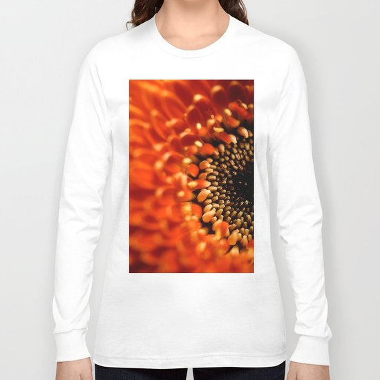 Floral Sun Burst Long Sleeve T-shirt