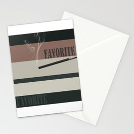 A gift for a man . Favorite male .2 Stationery Cards