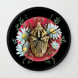 Goliat Beetle Wall Clock
