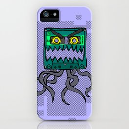 Crazy Cassette iPhone Case