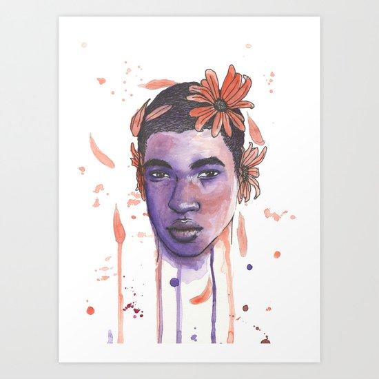 never let me go, never let me go Art Print
