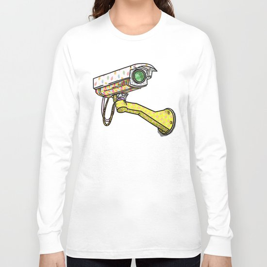 Security Camera Long Sleeve T-shirt