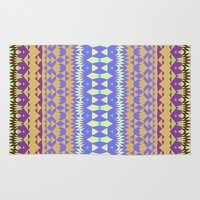 oasis Area & Throw Rugs featuring Oasis #2 by Ornaart