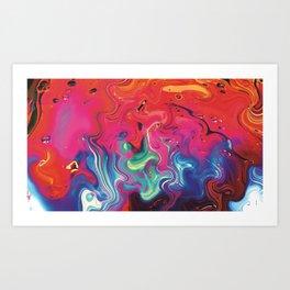 Liquid #8 Art Print