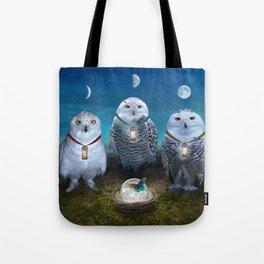 Light Sentinels Tote Bag