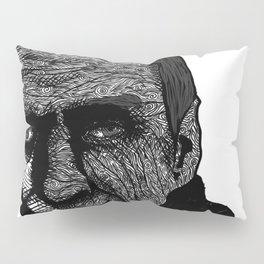 Misterious Man Pillow Sham