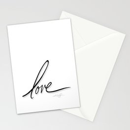 Love No. 2 Stationery Cards