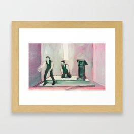 Repent! Framed Art Print