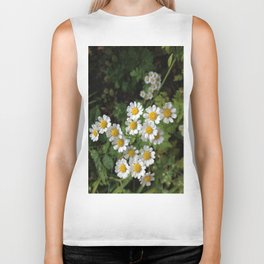 Nothing is Coming Up Daisies Biker Tank