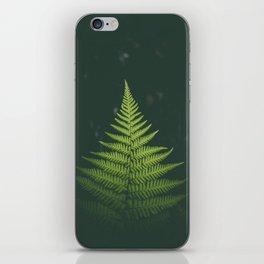 Fern Leaf Green iPhone Skin
