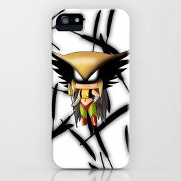Chibi Hawkgirl iPhone Case