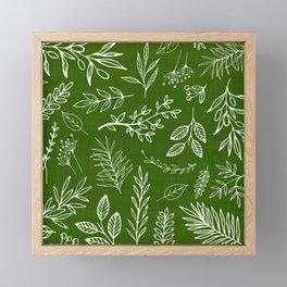 Emerald Forest Framed Mini Art Print