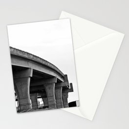 Overpass Under Construction Stationery Cards