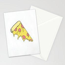Cheesy Pizza Stationery Cards