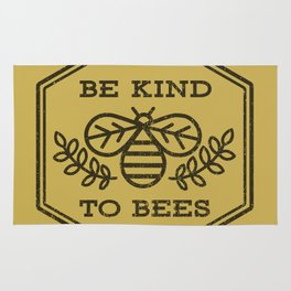 Be Kind To Bees Rug
