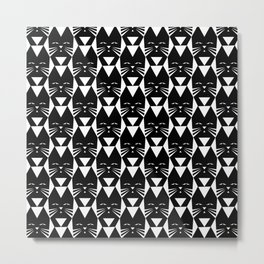 Cats are Watching Metal Print