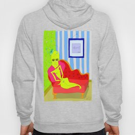 """""""Stealing Matisse"""" (Picasso Watching) Hoody"""
