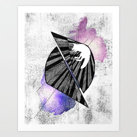 Calamity Art Print
