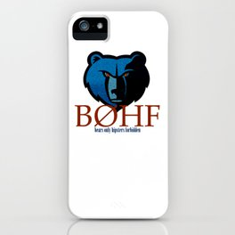 Bears only III iPhone Case