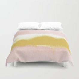 Blush & Gold Rush Duvet Cover