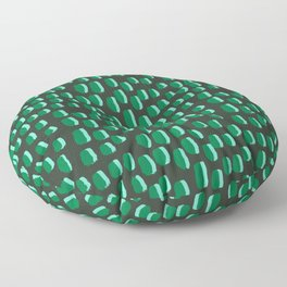 Abstract pattern dots minimal modern home decor minimalist design for dorm college office Floor Pillow
