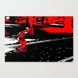 Street Skater Canvas Print