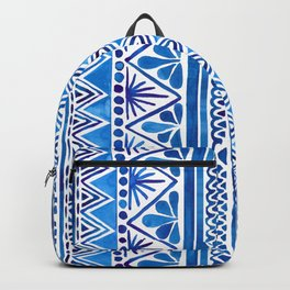 Watercolor Whimsical Pattern Backpack