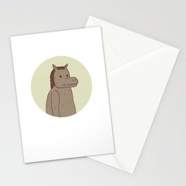 Horse Thing Stationery Cards