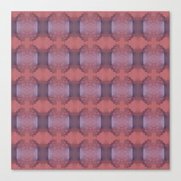 Lacy pattern weaving Canvas Print