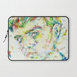 TRUMAN CAPOTE - watercolor portrait Laptop Sleeve
