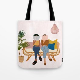Smart Girls Read Books Tote Bag